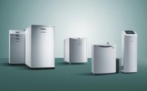 Immer mehr Mini-KWK-Anlagen werden in Deutschland eingesetzt (Bild: Mini-BHKW-Serie des Unternehmens Vaillant)